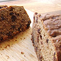 Banana Bread with Chocolate and Teff Flour