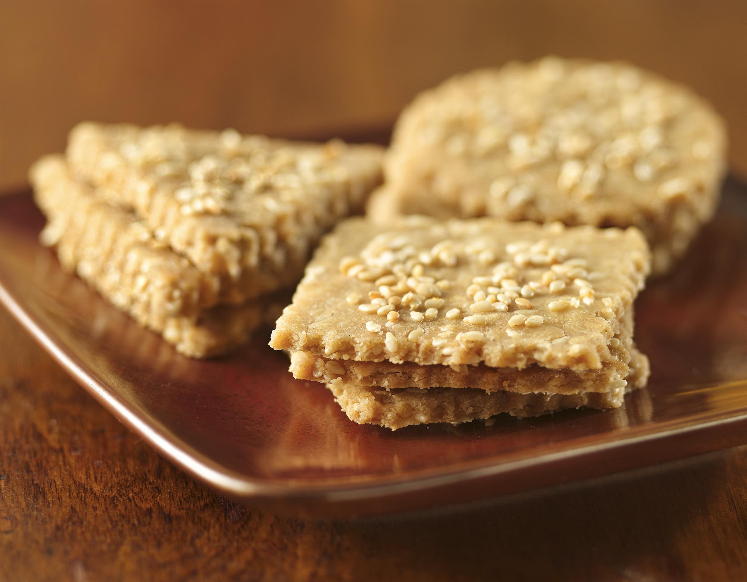 Sesame Crackers Recipe   Healthy Recipe