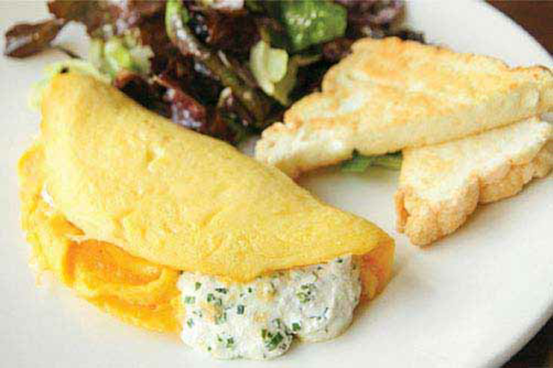 How to Make Herb Goat Cheese Omelet | Healthy Recipe