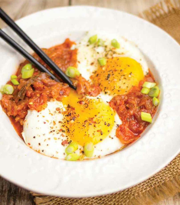 Kimchi Eggs Recipe | Healthy Recipe