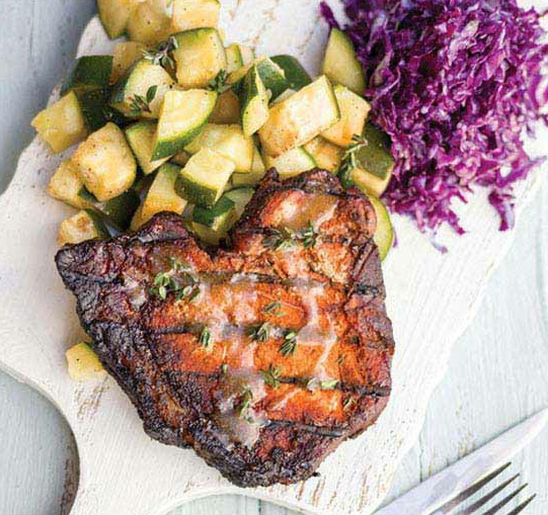 How to Make Smoked Pork Chops with Apple Glaze   Healthy ...