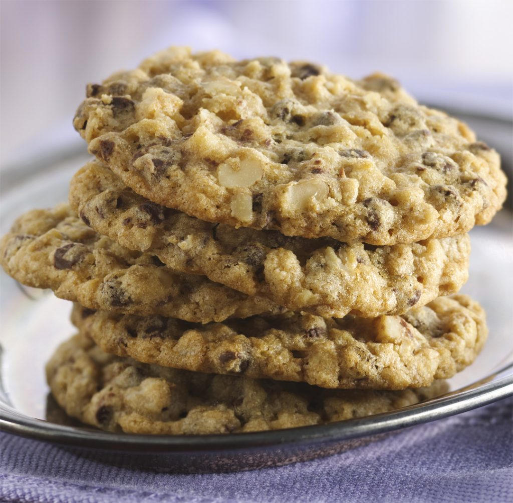 Slice 'n' Bake Oatmeal–Chocolate Chip Cookies Recipe ...