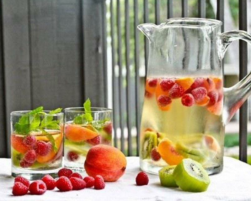 Peach Infused Water Recipes